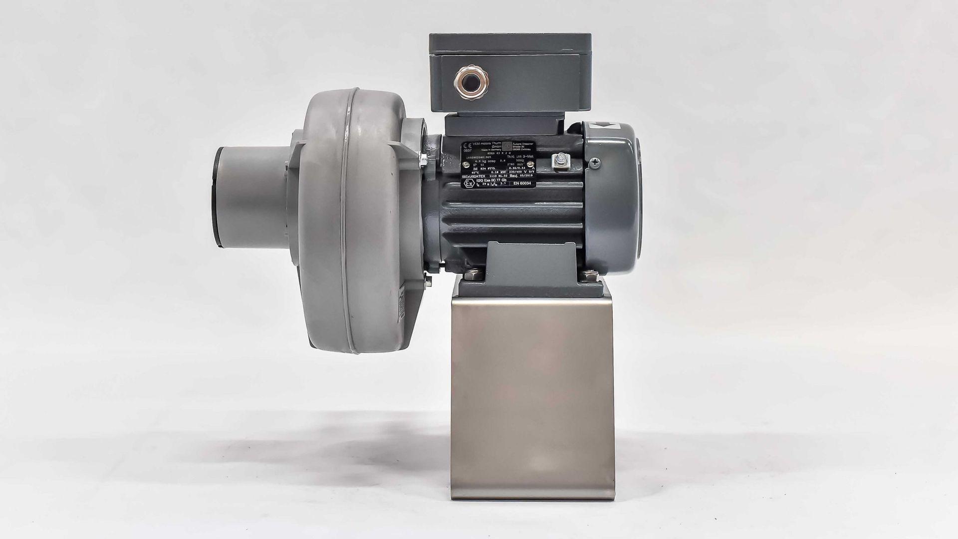 Turbo radialgebläse radialventilator radiallüfter ventiladores 1950m³h 4-eck brida